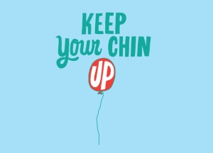 keep your chin up balloon