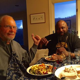 John Tyranny Thanksgiving dinner